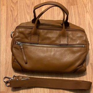Fossil - Light brown bag new never worn .